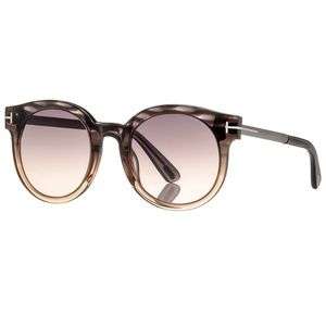 Tom Ford Sunglasses Grey w/Grey Gradient Lens